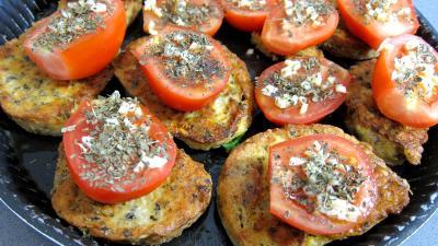 Recette Tartines de pain aux tomates