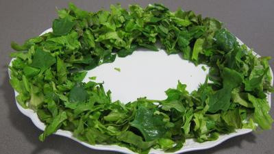 Recette Tétragone en salade