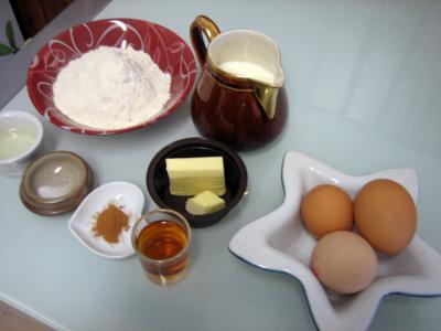 Ingrédients pour la recette : Crêpes aux épices