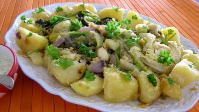 potée : Plat d'une potée de légumes