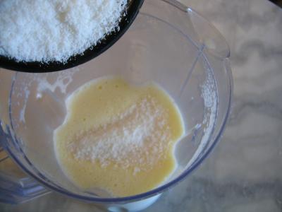 Crème anglaise à la noix de coco - 4.1