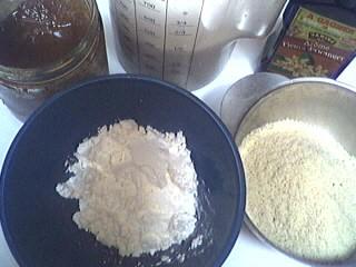 Ingrédients pour la recette : Crème aux amandes et au miel