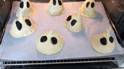 Halloween les pains fantômes - 6.3