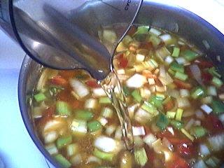 Recette Crème de poivron rouge au boursin