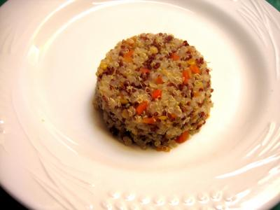 Crevettes au curry et quinoa - 6.3