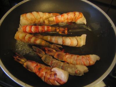 Crevettes aux pousses de bambou - 5.3