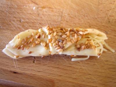 Croissants à l'emmental et graines de sésame - 4.2