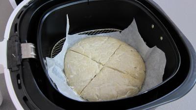 Miche de pain au blé noir à la friteuse Airfryer - 7.3