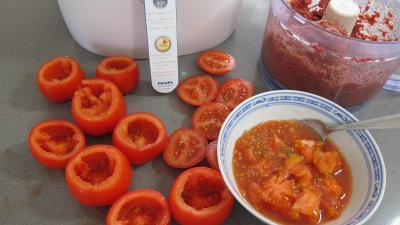Farcis de tomates au Airfryer - 5.2