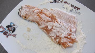 Effilochés de truite et son quinoa en risotto aux champignons - 5.2