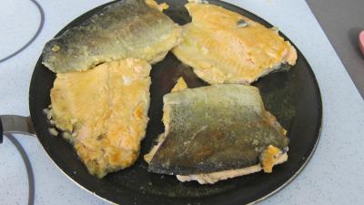 Effilochés de truite et son quinoa en risotto aux champignons - 5.4