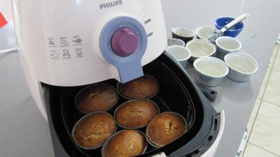 Cupcakes au chocolat à la friteuse Airfryer - 7.1