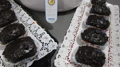 Recette Plats de cupcakes au chocolat à la friteuse Airfryer