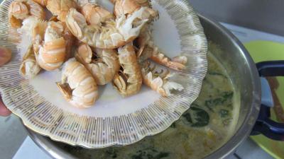 Crustacés et poisson en marmite - 8.2