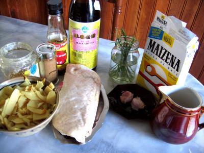 Ingrédients pour la recette : Canard laqué au miel