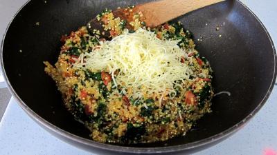 Chorizo, quinoa et coquilles Saint-Jacques - 7.1