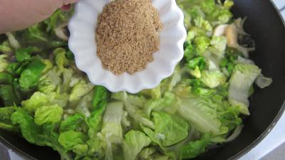 Capelletis et son velouté champignons et laitues - 5.3