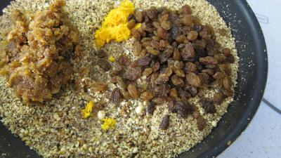 Roulés de fruits secs façon sicilienne - 5.1