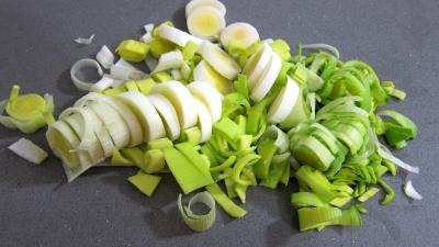 Médaillons de perche et sa crème de légumes - 1.3