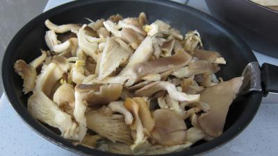 Recette Pleurotes en risotto à la truffe