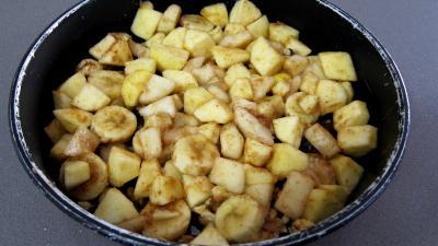 Tatin de pommes, poires, banane - 4.4