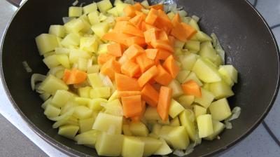 Recette Wok de légumes au Jurançon