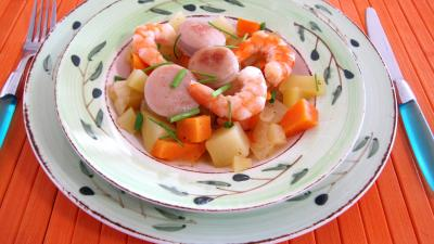 Wok de légumes au Jurançon - 7.2
