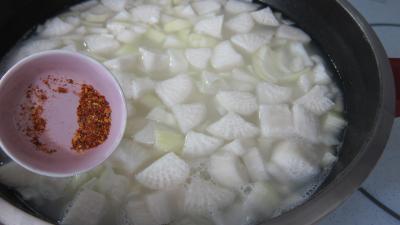 Topinambours et sa soupe facile - 6.3