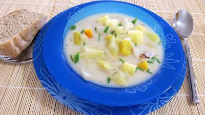 Cuisine diététique : Assiette de topinambours et sa soupe facile