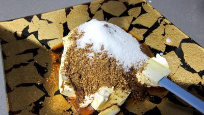 Kakis en trifle aux amandes - 3.2