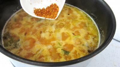Crosnes et églefin (aiglefin) en risotto - 5.3