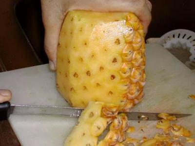 Tatin à l'ananas, fruit de la passion et bananes - 1.1