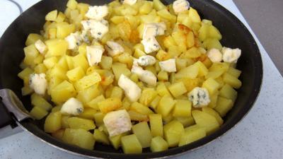 Crêpes farcies aux gésiers confits et pommes de terre - 7.2