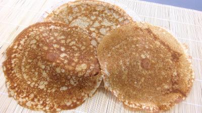 farine de sarrasin : Crêpes à la noix de coco