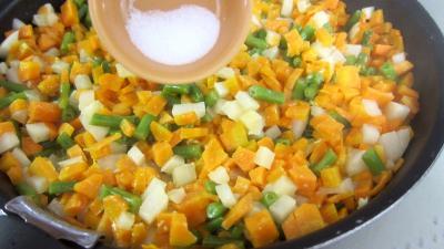 Navets et carottes gratinés au chèvre frais - 5.2