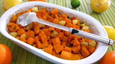 Recette Patates douces à l'orange façon américaine