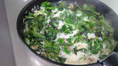 Brouillade de salades aux coquillettes - 2.3