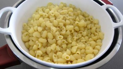 Brouillade de salades aux coquillettes - 3.4