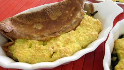 Image : recette Blettes et ses crêpes soufflées