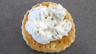 Crackers à la ricotta et aux oeufs de caille - 5.1