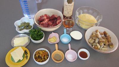 Ingrédients pour la recette : Coeurs de canard aux cèpes