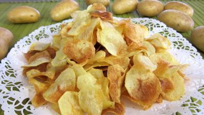 Recette Assiette de chips de pommes de terre