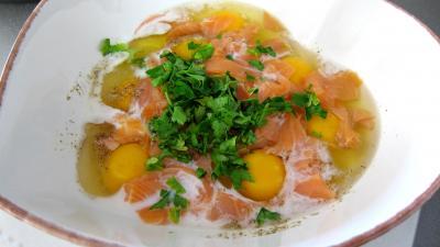 Oeufs brouillés au saumon fumé - 2.3