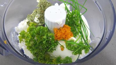 Mille-feuilles de betteraves au fromage frais de chèvre - 2.4