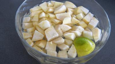 Soupe de gambas à la crème de coco - 2.3