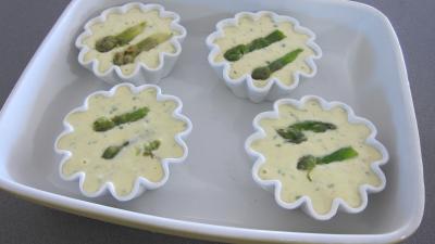 Flans d'asperges - 6.2