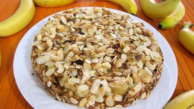 Gâteau aux amandes et aux bananes - 9.3