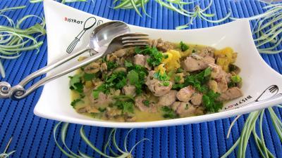 Filets mignon de porc ananas et crème de coco - 10.4