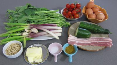 Ingrédients pour la recette : Salade de broutes