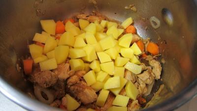 Broutes et blancs de poulet en soupe - 6.4
